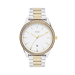 STORM - Ladies gold 'Crystalex' watch