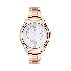 STORM - Ladies rose gold 'Orba' watch