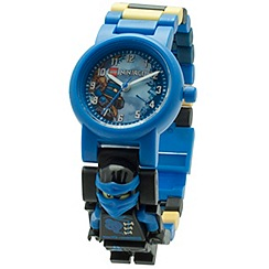 LEGO - Kid's mulitcoloured Ninjago Sky Pirates Jay watch 8020530