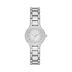 DKNY - Ladies Chambers silver-tone bracelet watch