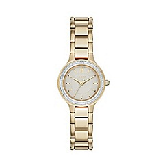 DKNY - DKNY Ladies Chambers gold-tone bracelet watch