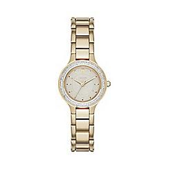 DKNY - DKNY Ladies Chambers gold-tone bracelet watch ny2392