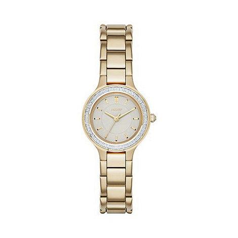 DKNY - DKNY Ladies Chambers gold-tone bracelet watch