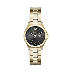 DKNY - Ladies Parsons gold-tone bracelet watch
