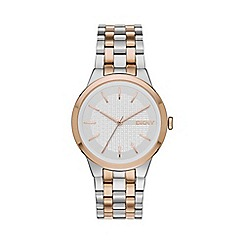 DKNY - Ladies Park Slope two tone watch