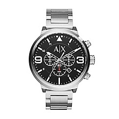 Armani Exchange - Men's silver chornograph bracelet watch