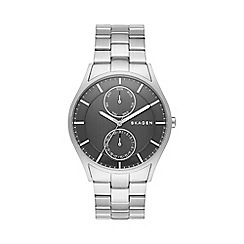 Skagen - Men's brushed steel Holst watch