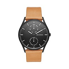 Skagen - Men's black Holt watch