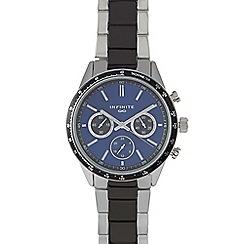Infinite - Men's blue mock multi-dial watch
