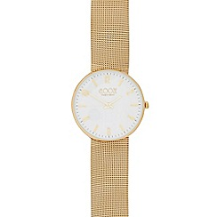 Floozie by Frost French - Ladies' silver mesh watch