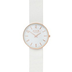 Floozie by Frost French - Ladies' white lugless watch