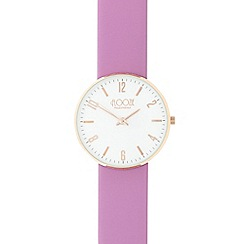 Floozie by Frost French - Ladies purple lugless watch