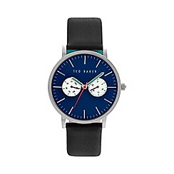 Ted Baker - Men's black multifunction strap watch