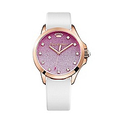 Juicy Couture - Ladies rose gold Jetsetter glitter ombre dial watch