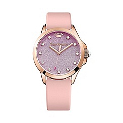 Juicy Couture - Ladies rose gold Jetsetter ombre dial watch