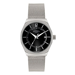 Rotary - Gents mesh bracelet watch