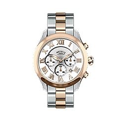 Rotary - Ladies two tone bracelet watch