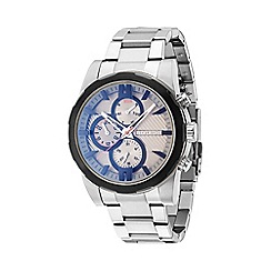 Police - Men's stainless steel 'Matchcord' multifunction watch 14541jstb/13m