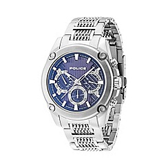 Police - Men's stainless steel 'Mesh Up' multifunction watch
