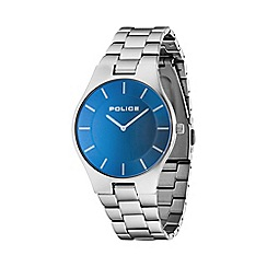 Police - Men's blue dial 'Splendor' bracelet watch