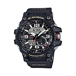 G-shock - Men's black 'G-Shock Mudmaster' watch