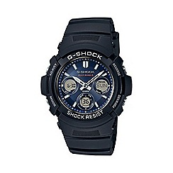G-shock - Men's black 'G-Shock' watch awg-m100sb-2aer
