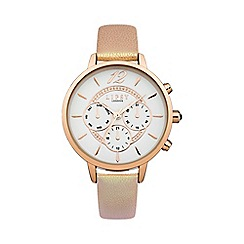 Lipsy - Ladies nude strap watch lp421