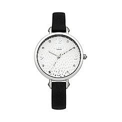 Lipsy - Ladies black strap watch