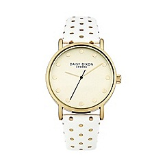 Daisy Dixon - Ladies white strap watch dd022wg