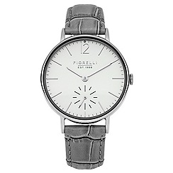 Fiorelli - Ladies grey leather strap watch