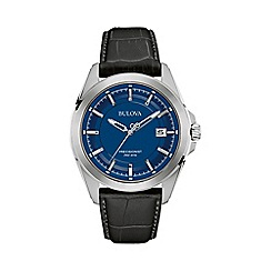 Bulova - Men's blue dial 'Precisionist' watch