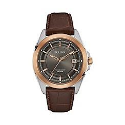 Bulova - Men's rose gold 'Precisionist' watch