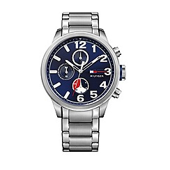 Tommy Hilfiger - Men's grey chronograph bracelet watch 1791242