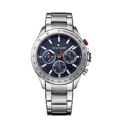 Tommy Hilfiger - Men's grey chronograph bracelet watch