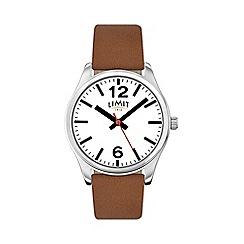 Limit - Men's tan strap watch 5628.02