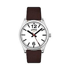 Limit - Men's brown strap watch 5629.02