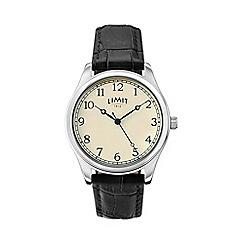 Limit - Men's black strap watch