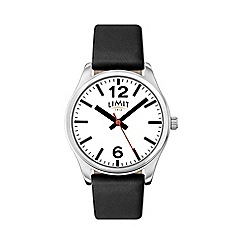 Limit - Ladies black strap watch
