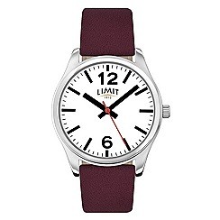 Limit - Ladies wine strap watch 6184.02