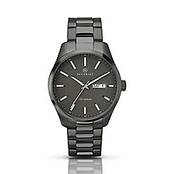 Accurist - Men's gun metal bracelet watch 7058.01