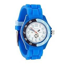 Tikkers - Kids' blue football watch tk0002