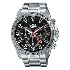 Lorus - Men's SS chronograph bracelet watch