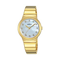 Lorus - Women's Retro GP bracelet watch rg280kx9