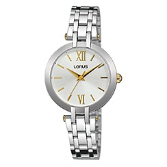 Lorus - Women's silver dress bracelet watch