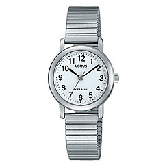 Lorus - Women's silver expandable bracelet watch