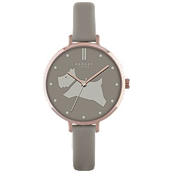 Radley - Ladies mole 'Go Walkies' leather watch