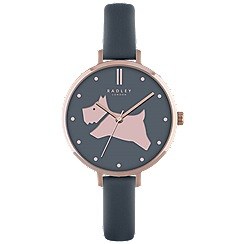 Radley - Ladies shingle 'Go Walkies' leather watch