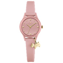 Radley - Ladies pink 'Watch It! silicone watch