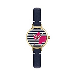 Radley - Ladies navy 'Love Radley' summer watch
