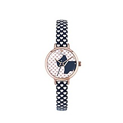 Radley - Ladies fig 'Love Radley' summer heart watch